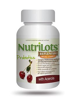 NutriLots Replenish Acerola 30 Capsules