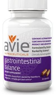 Avie Nutraceuticals Gastrointestinal Balance